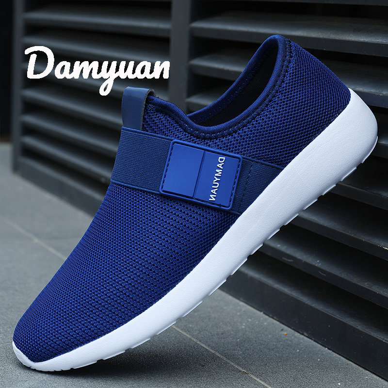Damyuan 2020 New Fashion Autumn Shoes Men Flyweather Comfortables Keep Warm Non-leather Casual Lightweight Jogging Winter Shoes