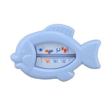 Baby Shower Bath Water Thermometer Cartoon Fish Thermometer Kids Bath Thermometer Toy BathTub Baby Shower Water Thermometer