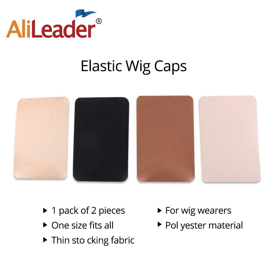 Alileader 6Packs/12Pcs Hot Selling Hair Wigs Caps Hair Weave Stocking Cap Wholesale Nylon Stretch Wig Caps For Making Wigs