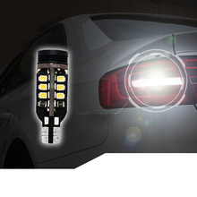 Lsrtw2017 LED Car Reversing Light Bulb for Audi A4 Q5 A6 A3 Q3 A5 A1 Q7 Accessories