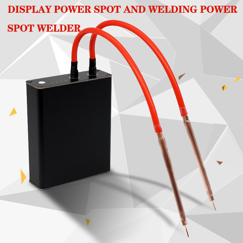 Portable Mini Spot Welder DIY Nickel Strip Connector Battery 18650 Batteries Spot Welder Pens Display Power Spot Welding Power