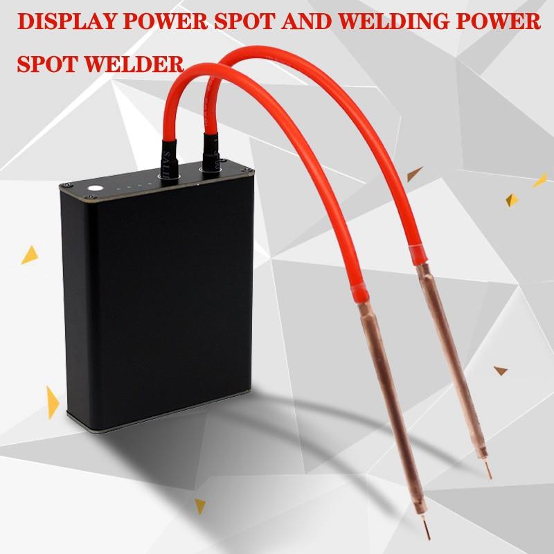 Portable Mini Spot Welder DIY Nickel Strip Connector Battery 18650 Batteries Spot Welder Pens Display Power Spot Welding Power