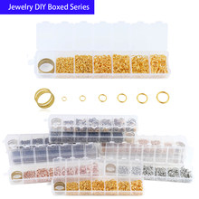 120-2800pcs Box Jewelry Sets Lobster Clasp DIY Jewelry Accessories Connection Jump Rings Earring Hook Jewelry Making Supplies