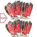 24 шт./12 пар, Нескользящие перчатки с полиэфирным нейлоновым латексным покрытием