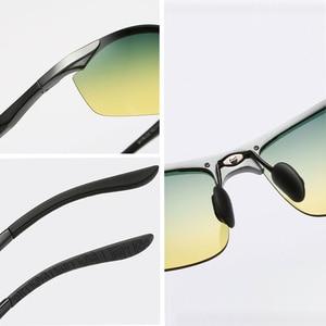 Image 4 - Brand Aluminum Polarized Day Night Driver Sun Glasses Polarized Male Sun Glasses For Men Eyewear Accessories UV400 8179