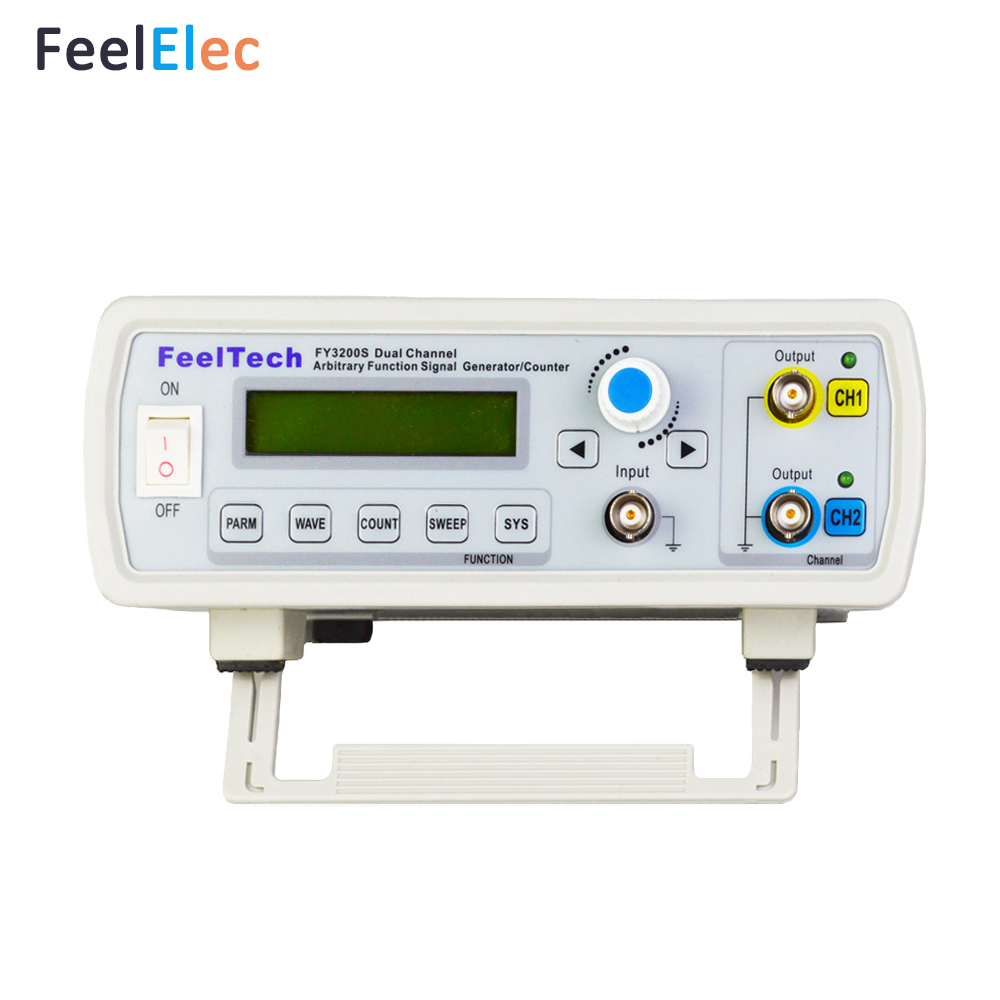 FY3200S-06M DDS двухканальный генератор сигналов произвольный генератор сигналов
