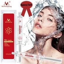2Pcs Six Peptide Hyaluronic Acid Shrink Pores Essence Anti Aging Wrinkle Lifting Face Serum Skin Care Collagen