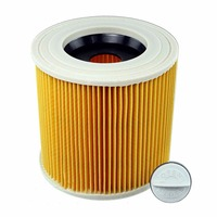 air dust filters for Karcher Vacuum Cleaners parts Cartridge HEPA Filter WD2250 WD3.200 MV2 MV3 WD3 karcher filter parts