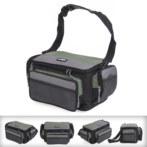 Image 2 - 방수 낚시 가방 다기능 낚시 태클 가방 물고기 도로 릴 루어 후크 스토리지 어깨 가방