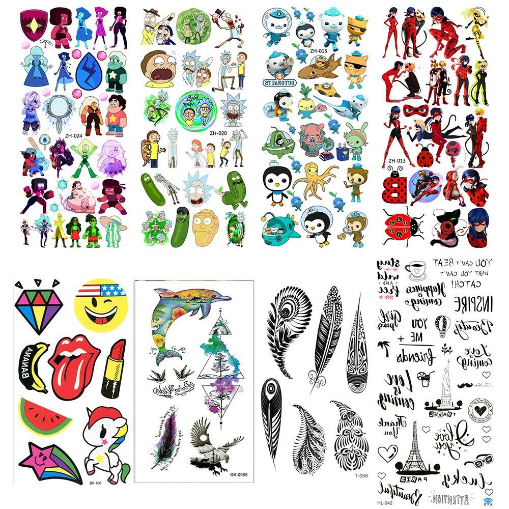 Chest Tattoo Tatoo Fake Temporary Paper Tattoos Cool For Hand Tatto Sticker Tatu Sleeves Flash Tato Tattos Cute Body