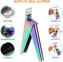 Professional Cuticle Nippers 4PCs Stainless Steel Nail Clipper Cuticle Cutter Nipper Scissors Dead Skin Remover Nail Care Tool
