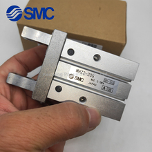 mhz2 10dn pneumatic pneumatic smc finger parallel open double acting air claw the installation hole of mhz2 10d is different MHZ2-6D2 MHZ2-10D2 MHZ2-16D2 MHZ2-20D2 MHZ2-25D2 MHZ2-32D2 MHZ2-40D2 SMC Finger Cylinder Pneumatic Component