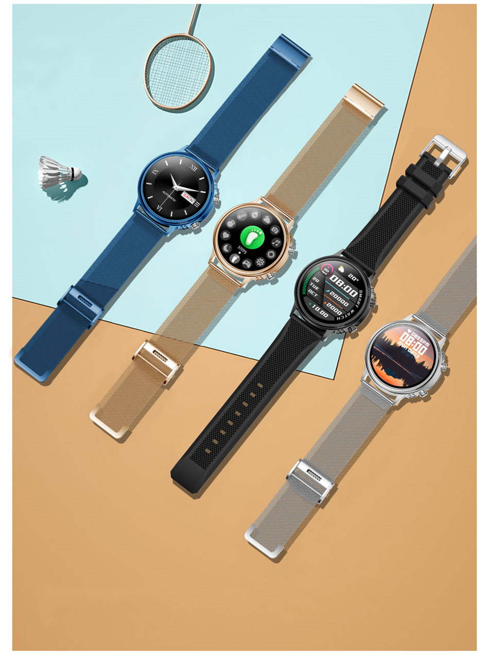 Hda9029c6811f4169b5fe972683ee8c283 LIGE New Smart Watch Men Custom Dial Full Touch Screen Waterproof Smartwatch For Android IOS Sports Smart watch Fitness Tracker