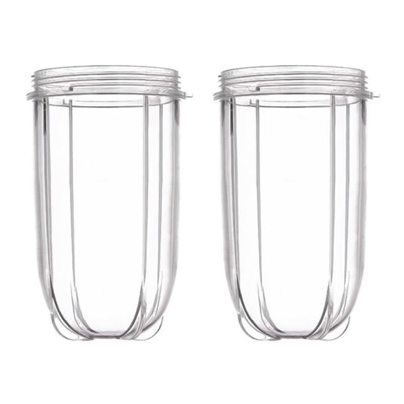 2 Pack Replacement Tall Jar Cups Fits for Magic Blender Fits Replacement Tall Jar Cups|  - title=