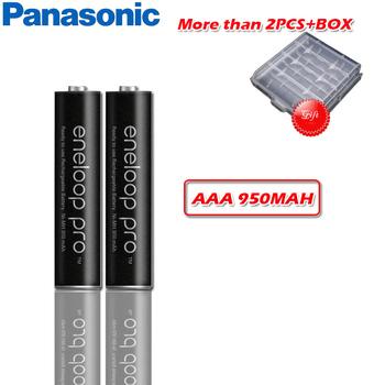Panasonic Original Pro 950mAh bateria AAA do latarki zabawka aparat PreCharged o dużej pojemności akumulatory tanie i dobre opinie BK-4HCCA 4BC Ni-mh Baterie Tylko 1 2h 1 2V 13g per section NiMH batteries