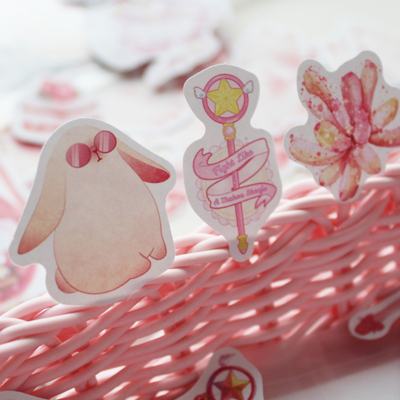 Japanese Diary My Melody Journal Flamingo Unicorn Dog Cute Stickers Scrapbooking Stationery Flakes Teacher Supplies