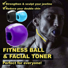 Food-grade Silica Gel JawLine Exercise Ball Muscle Trainin Fitness Ball Neck Face Toning Jawrsize Jaw Muscle Training Face lift