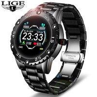 Reloj Digital de lujo para hombre, pulsera deportiva con control del ritmo cardíaco y de la presión sanguínea, con caja, 2020