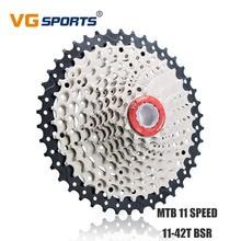 VG Sports Cassette 11 Velocidades 42T Freewheel Wide Gear Rotating Flywheel 11 Speed 42T for Shimano Sram Fixie cog Sprocket запчасть shimano передняя xtr fc m980 42t ae