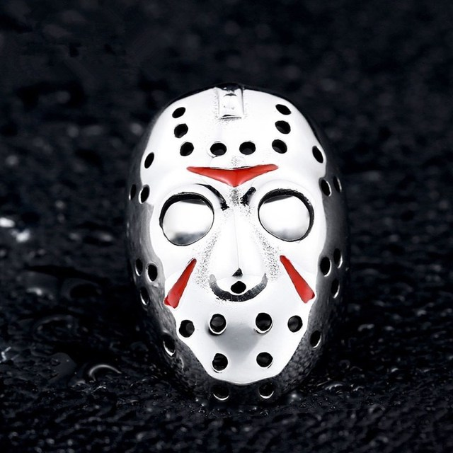 Men's Fashion Special Hip Hop Ring Wind Ninja Masks Hot Sale Male Rings Party Wear Jewelry Birthday Gifts