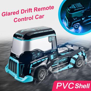 Newest 1:10 Remote Control RC Cars 2.4GHz High Speed Drift Heavy Trucks Toy Vehicles With Coloured Lighting