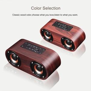 Image 5 - HIFI Wooden Bluetooth Speaker AUX Input TF Card Playback Wireless Subwoofer Portable Bass Column