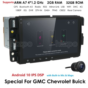 Image 1 - Android 10.0 DSP IPS 4G 64G Car Multimedia Player Navigation Stereo Radio For GMC Sierra Yukon Chevrolet Chevy Tahoe Suburban Pc