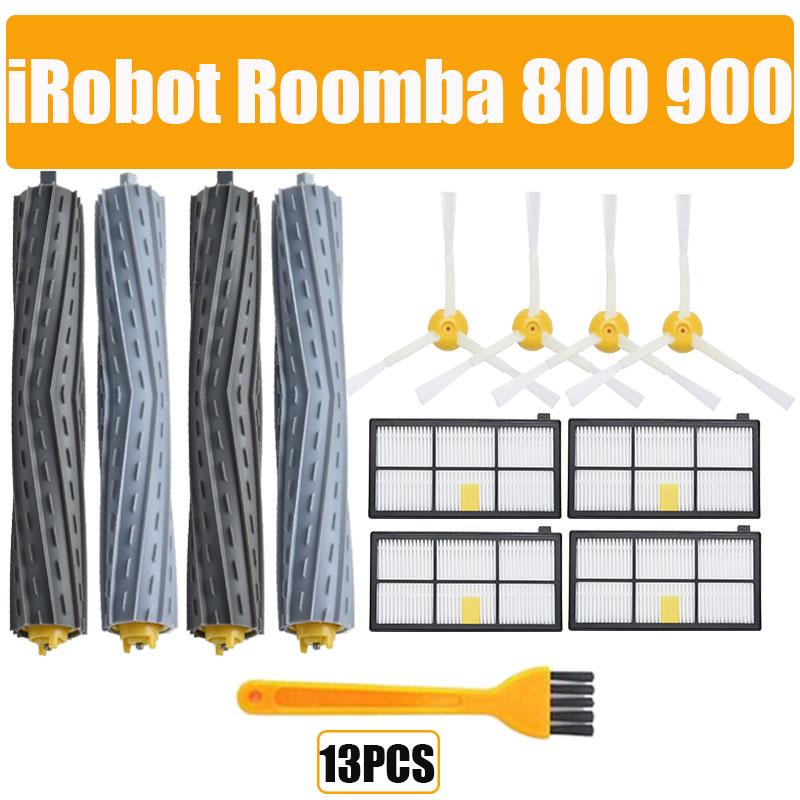 HEPA-фильтры, щетки, комплект запасных частей для iRobot Roomba 980 990 900 896 886 870 865 866 800, набор аксессуаров