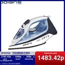 Утюг Polaris PIR 2483K 3m, белый/синий