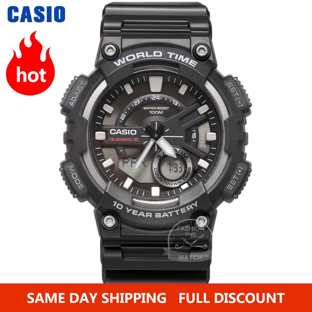 Casio Watch Selling Watch Men Top Luxury Set LED Military Digital Watch Sport 100m Waterproof Quartz Men Watch Relogio Masculino