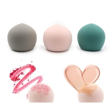 Small Peach Powder Puff Dry-wet Dual-use Super Soft Comfortable Smooth Cosmetic Tool Makeup Egg Recommend