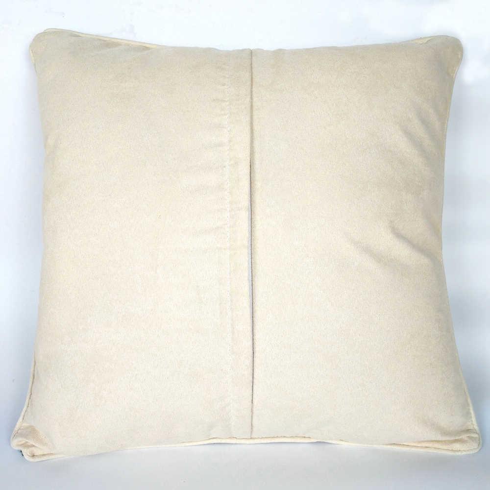Trava gancho coxim dos desenhos animados corujas fronha pré-impresso cor lona fio acrílico gancho travado travesseiro crochê almofada capa kits
