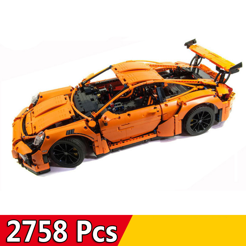 2758pcs Technic Sports Car Series Race Car 911 GT3RS Building Blocks Compatible Legoings 42056 Toys Christmas Gift