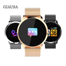 NewQ8 Smart Watch OLED Color Screen Smart Electronics Smartwatch Fashion Fitness Tracker Heart Rate bluetooth Men Man Women Gift kw18 bluetooth smart watch women men sport fitness tracker watches fashion heart rate smartwatch sim ips screen smartwatches men