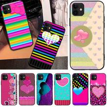 LJHYDFCNB Shining love DIY Printing Phone Case cover Shell For iPhone 5C 6 6S 7 8 plus X XS XR XS MAX 11 11 pro 11 Pro Max ljhydfcnb wave spray cover soft shell phone case for iphone 6 6s plus 7 8 plus x xs xr xs max 11 11 pro 11 pro max cover