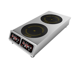Komercyjna kuchenka elektryczna podwójna kuchenka indukcyjna o dużej mocy 3500w piec urządzenie do gotowania makaronu urządzenie do gotowania indukcyjnego