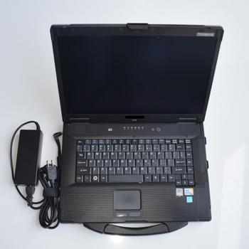 CF52 laptop with 360GB SSD ready to use New multiple diagnostic interface G-M Scanner WIFI G-M MDI with GDS2 + TECH2WIN