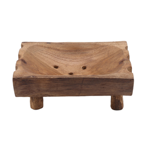 Винтажная ручная работа, натуральная деревянная подставка для мыльницы, подставка для хранения, деревянная Коробка для мыла для ванной, душ...