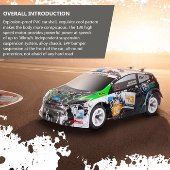K999 rc car 1:28 off-road vehicle 2.4G electric four-wheel drive remote control car black gold chassis speed 30km RC off-road 1