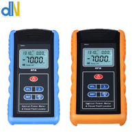 FTTH Handheld TL 560 Blue 5mw Fiber optic power Meter Laser Light Source and 10MW yellow Fiber Optic Visual Fault Locator