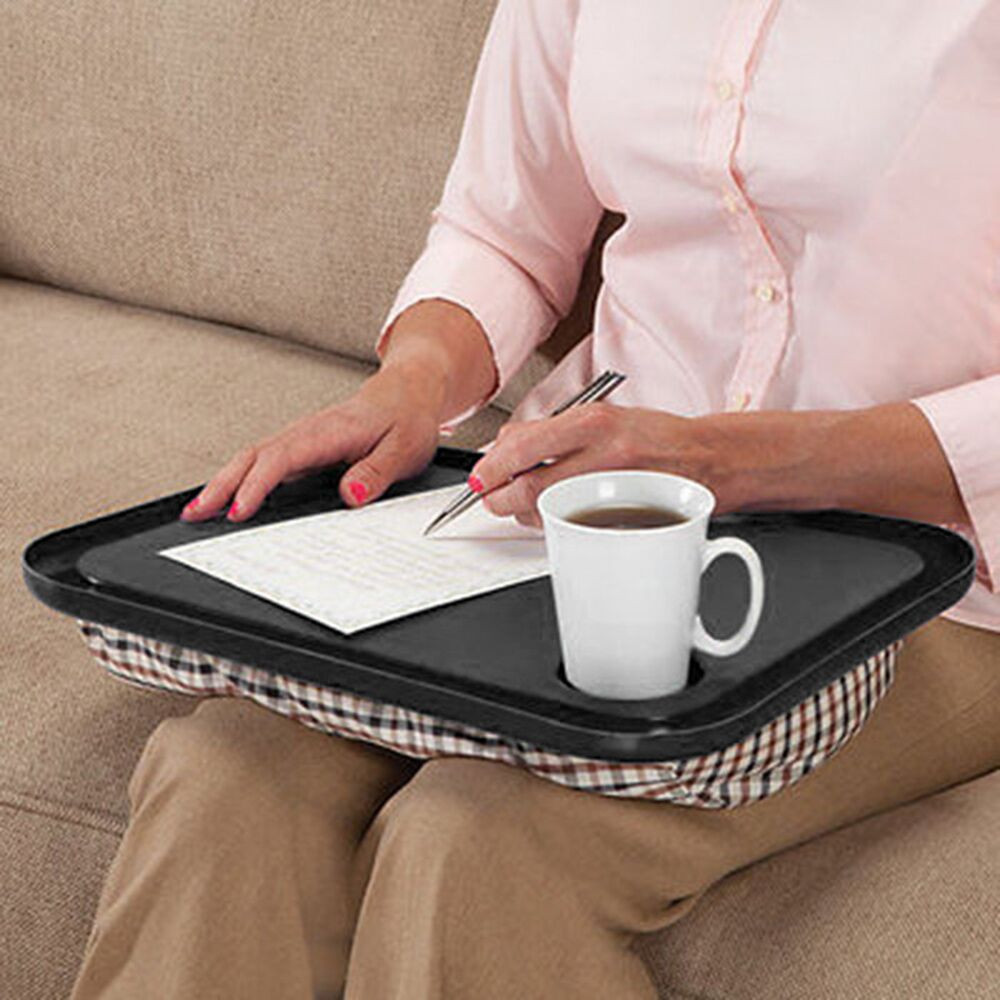 Lap Desk For Laptop Chair Student Studying Homework Writing Desk Bed Portable Dinner Work Notebook Holder Tool Tray