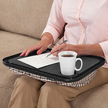Lap Desk For Laptop Chair Student Studying Homework Writing Desk Bed Portable Dinner Work Notebook Holder Tool Tray(China)