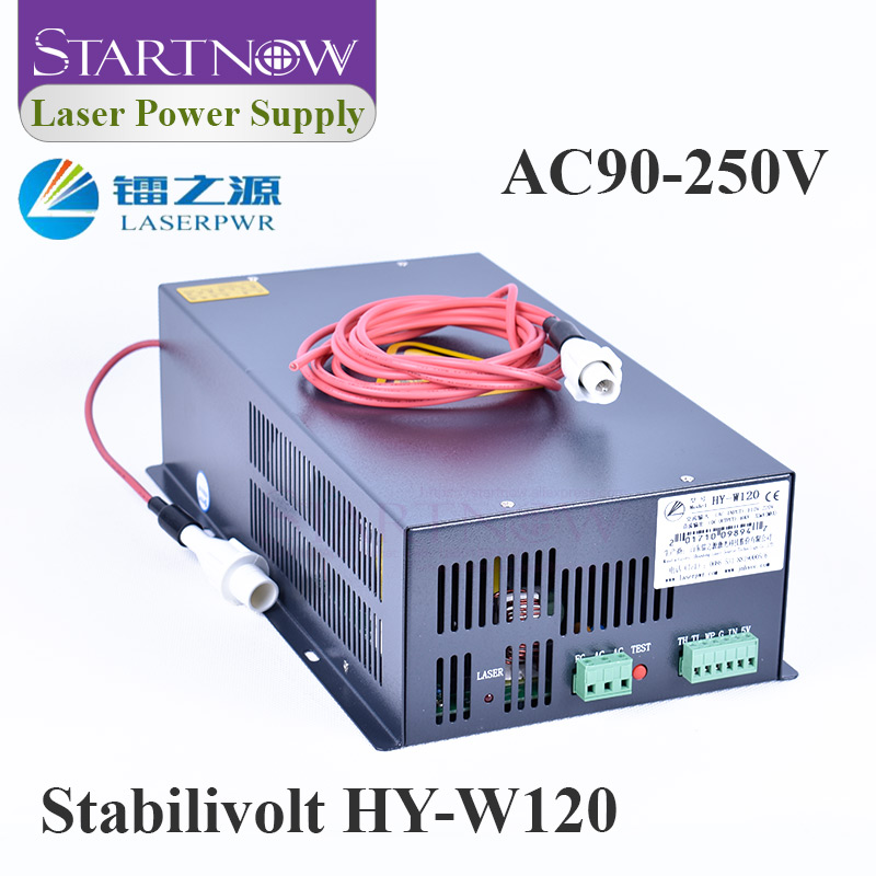 HY-W120 120W CO2 Laser alimentation 110V 220V universel PSU 100W Co2 Laser Source pour Laser gravure découpeuse