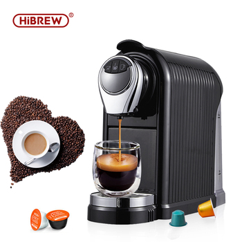 HiBREW coffee machine coffee maker automatic espresso Capsule espresso machine espresso maker Nespresso Dolce gusto cafe 1