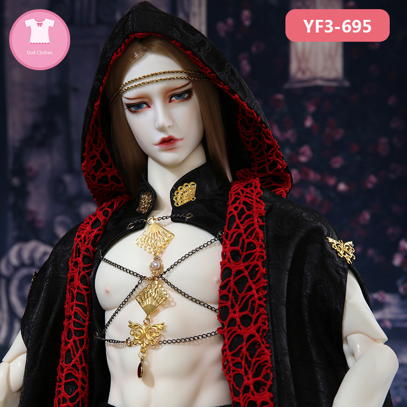 BJD Clothes ID72 DZ Spirit70 Boy Body And AS Gril Body 1/3 BJD SD Dress Beautiful Doll Outfit Accessories Luodoll