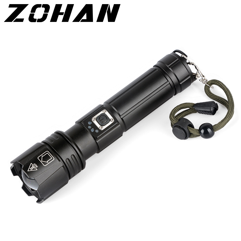 Closeout Deals╣Flashlights Airsoft Rifle Hunting Stungun Tactical XHP70 Oudoor Usb-Weapon for A-Gun