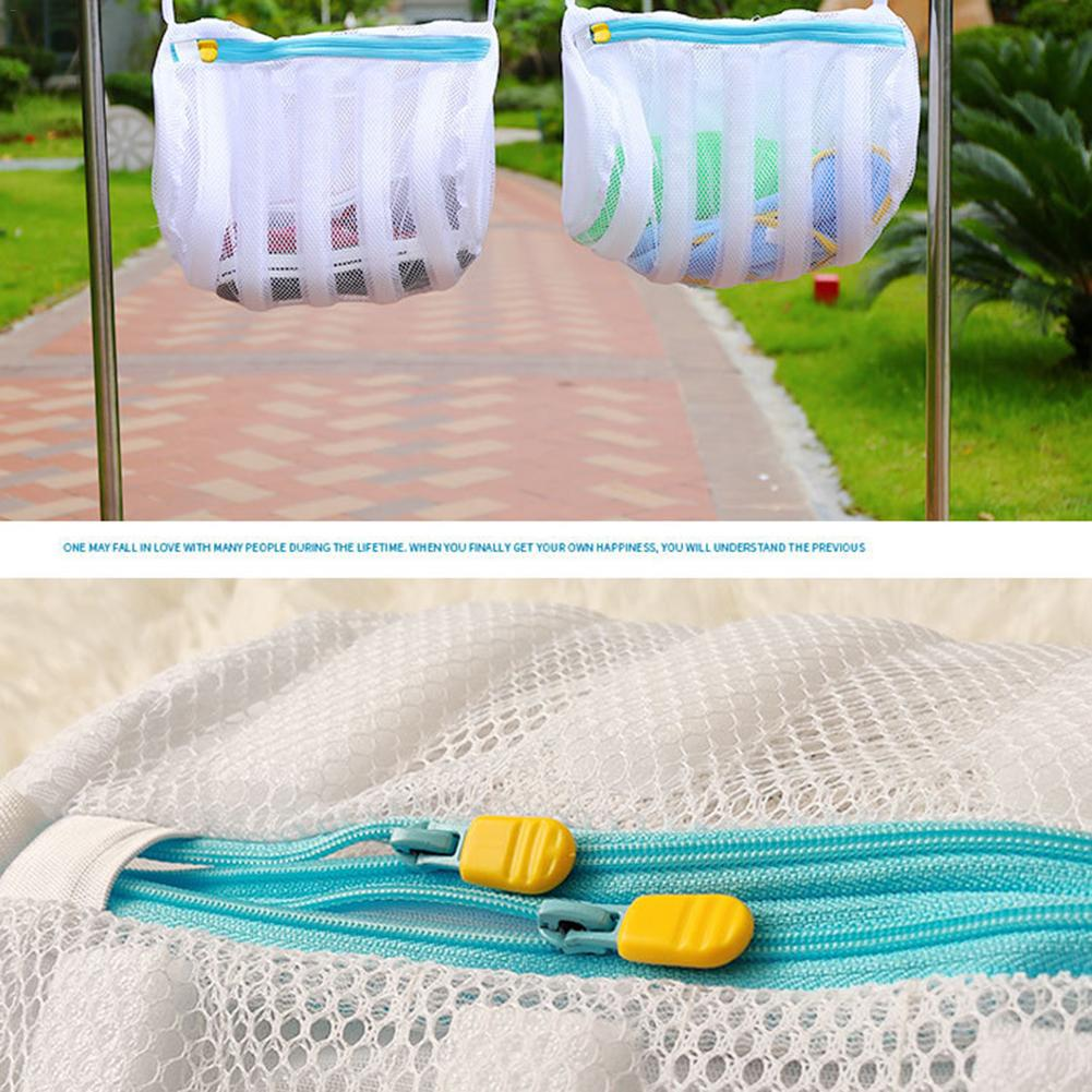 Shoe Wash Bag - Mesh Laundry Bag And Storage Solution For Washing Or Drying Shoes ,Sneakers ,Underwear,