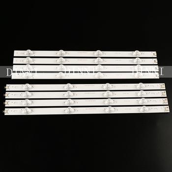Nowy listwa oświetleniowa LED dla LG 42LB5610 42LB5800 42LB585V 42LB 42 A B 6916L-1709A 1710A 6916L-1957A 1956A tanie i dobre opinie FDIK CN (pochodzenie) ROHS Przemysłowe 2g11 1 9cm Aluminium Żarówki led Oświetlenie wewnętrzne 82 5cm 85-265 v Bar światła