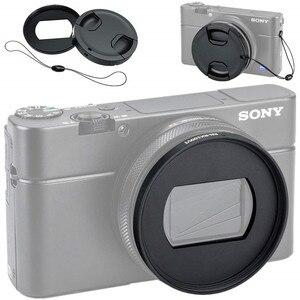 Image 3 - Filter Mount Adapter lens cap keeper for Sony RX100 Mark VII VI V VA IV III II 7 6 5 4 3 2 Digital Camera
