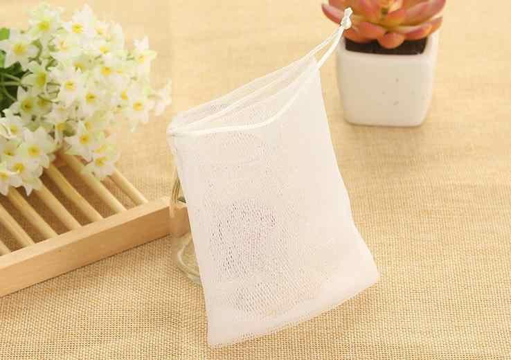 3 sztuk mydło worek mydło netto do tworzenia worek z bąbelkami dla pęcherzyki łazienka rękawice do sprzątania siatki gąbki